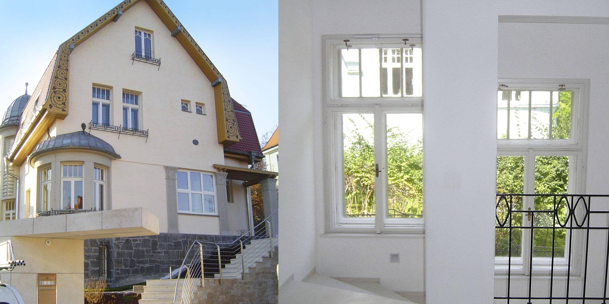 wohnhaus kastenfenster weiss sonderlösung denkmalschutz Tischler Hans Hummer Feldkirchen an der Donau