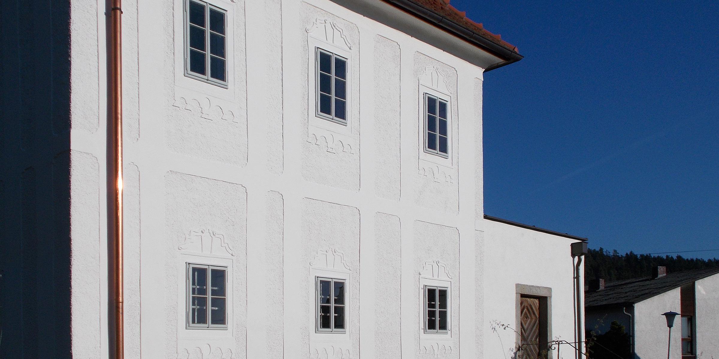 Wohnhaus mühlviertel traditionell nostalgisch historisch renoviert Tischler Hans Hummer Feldkirchen an der Donau