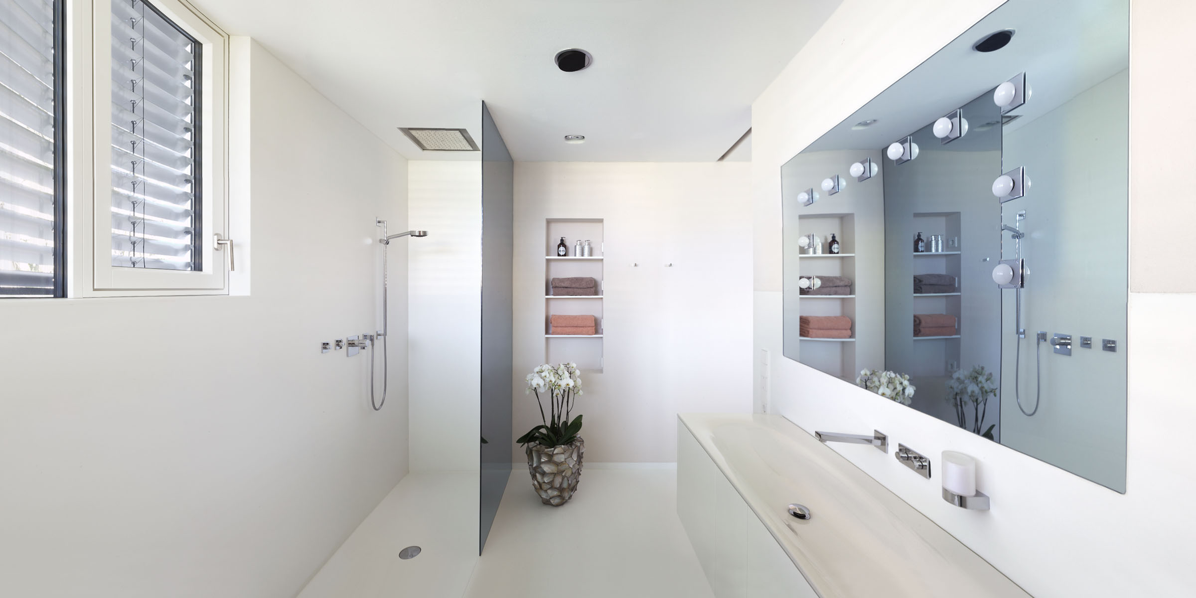 Hans Hummer Tischler Innenausbau Dusche